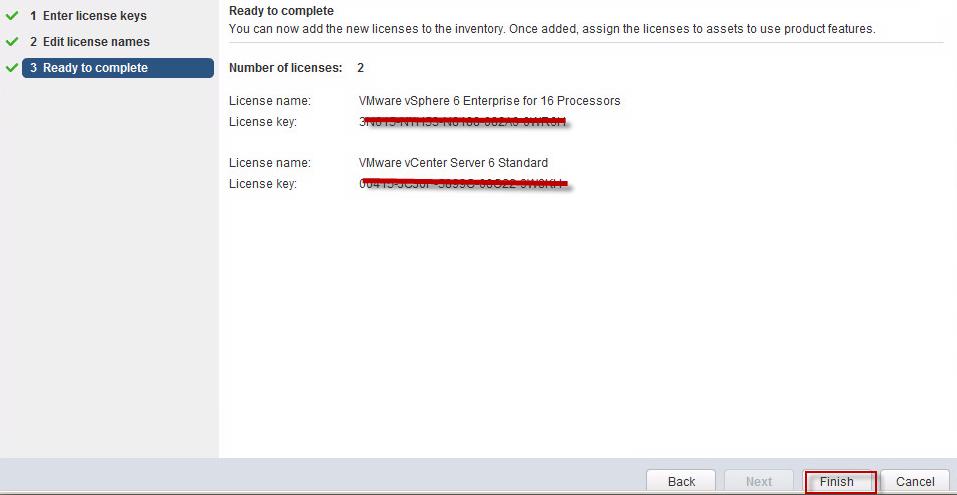 License vCenter Server & ESXi Host in vSphere 6 – Saurav Issar