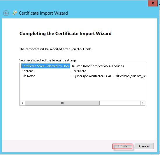 AirWatch Installation: Part 2 – SSL Certificate